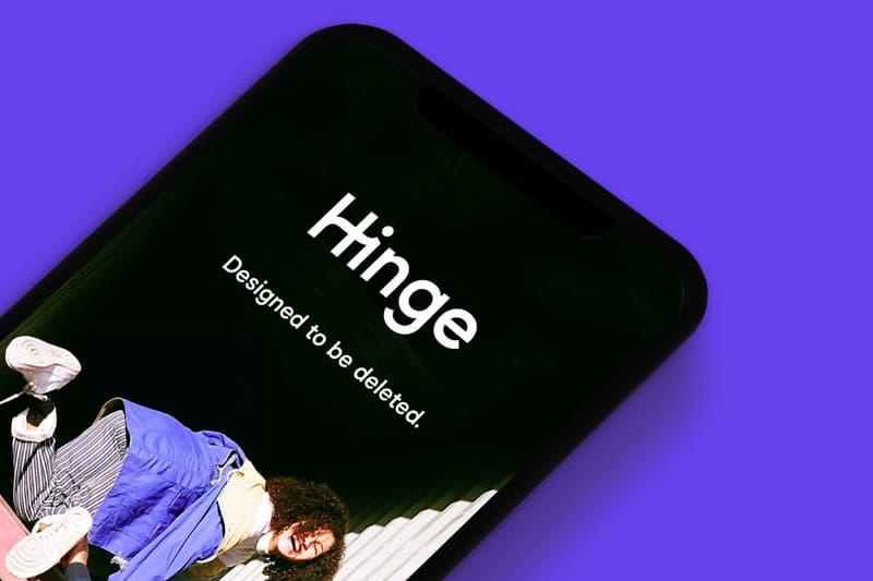 Hinge Dating App Logo Screen