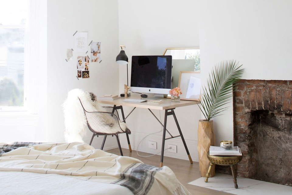 Home Office In A Small Apartment
