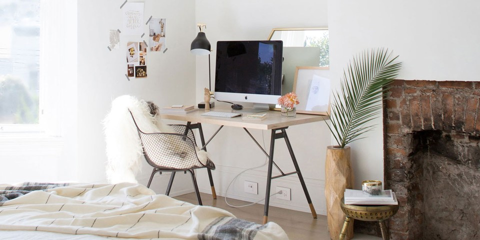 Home Office In A Small Apartment, Small Home Office Furniture