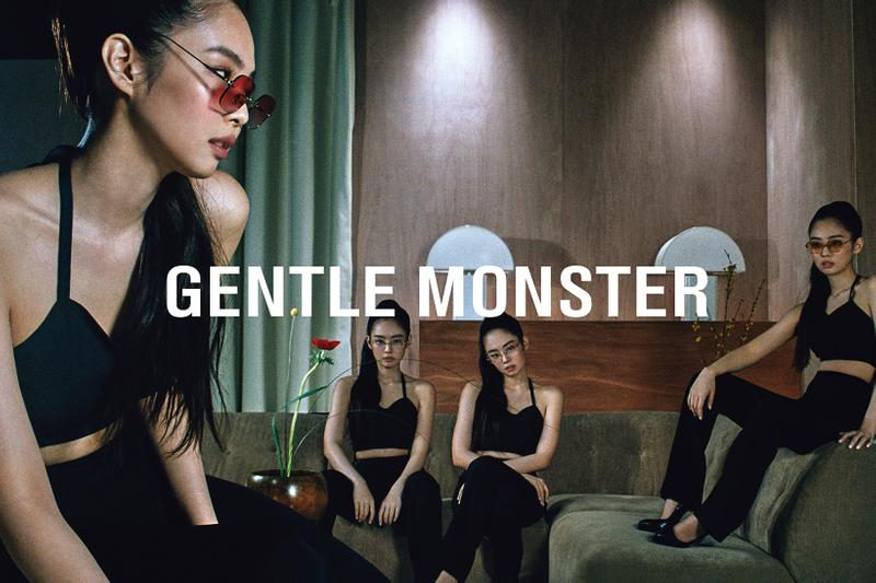 Jennie BLACKPINK x Gentle Monster Sunglasses Collaboration Collection Jentle Home Campaign