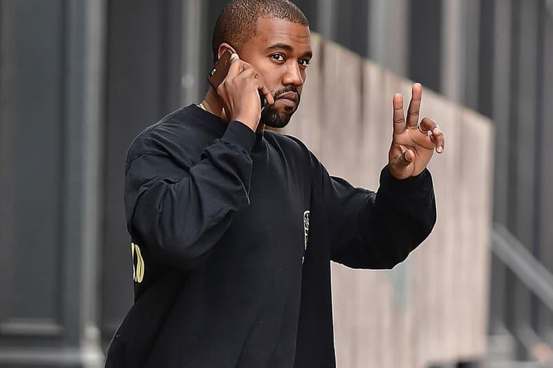 Kanye West Street Style Paparazzi