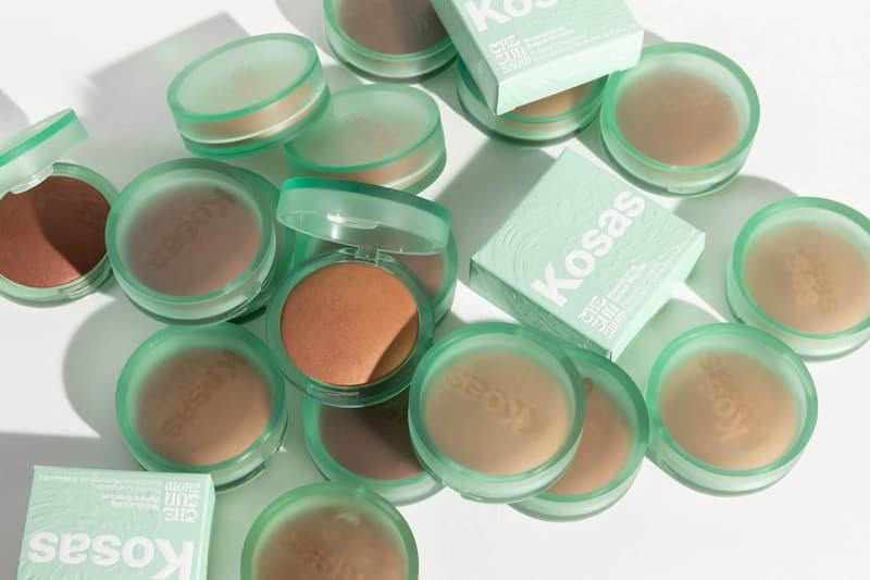 Kosas Sun Show Bronzer Makeup Product Release Moisturizing Formula Sea Glass Container Logo