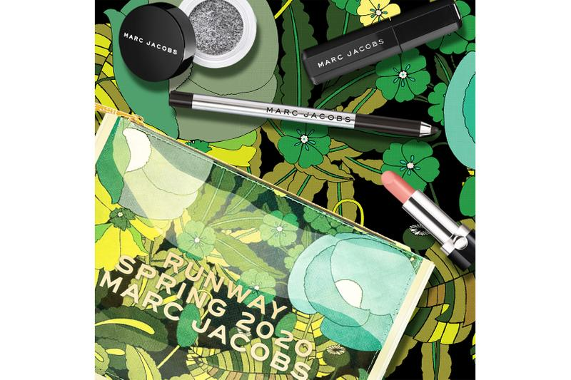 marc jacobs beauty spring summer 2020 runway inspired makeup sets everything goes with blacquer mist matched eyeshadow lips