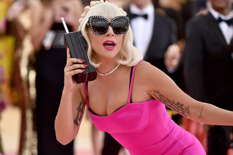 Lady Gaga Met Gala 2019 Red Carpet Camp Pink Dress