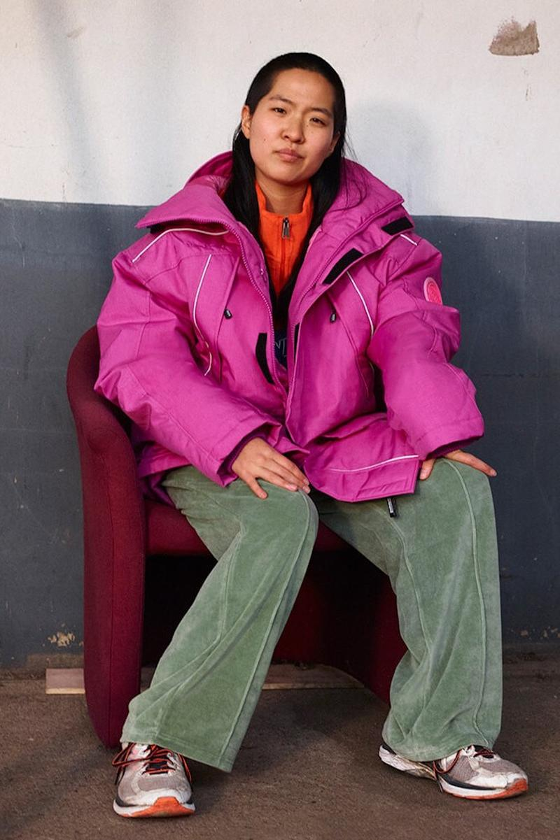 napa by martine rose napapijri fall winter collection outerwear fleece jackets sweaters pink red fashion