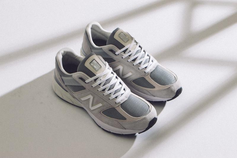 new balance m990 m990na5 sneakers grey whites shoes footwear sneakerhead