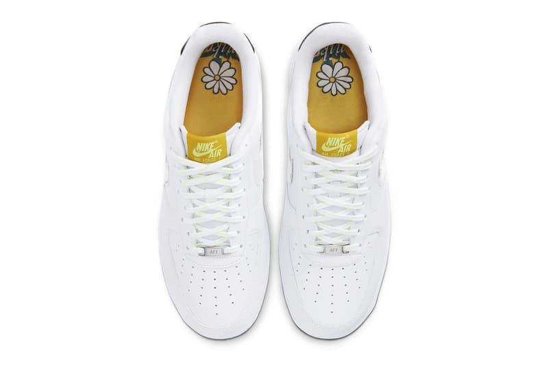 Nike Air Force 1 AF1 '07 LV8 Floral Swoosh Flowers Sneakers