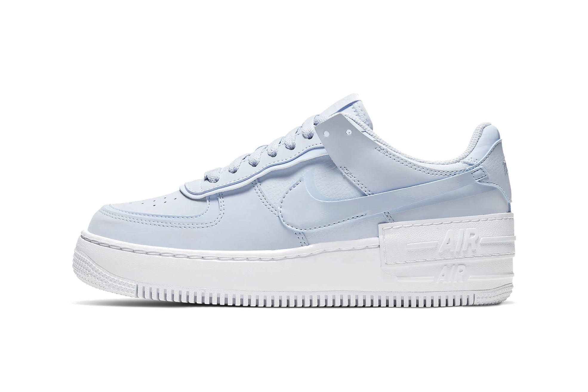 nike air force 1 light blue