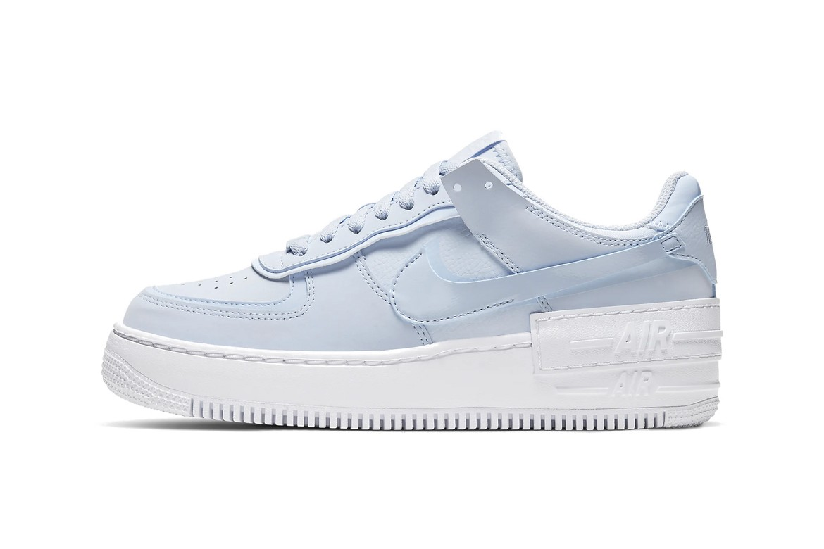 Nike Air Force 1 Shadow Baby Blue Glow In The Dark Hypebae Find out more about how your personal data is processed and set your preferences in the details section. nike air force 1 shadow baby blue glow