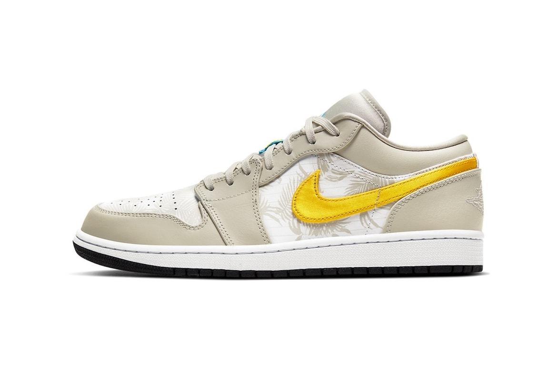 Air Jordan 1 Low Yellow Beige Release Date Hypebae