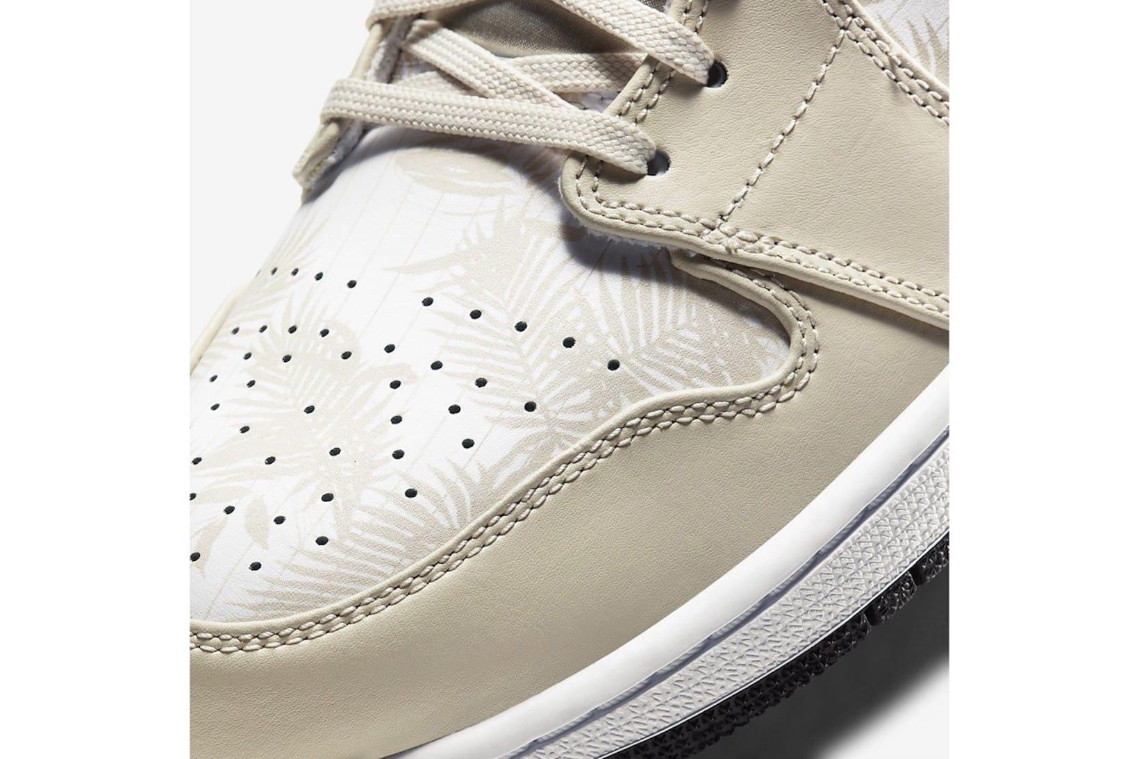 Air Jordan 1 Low Yellow/Beige Release