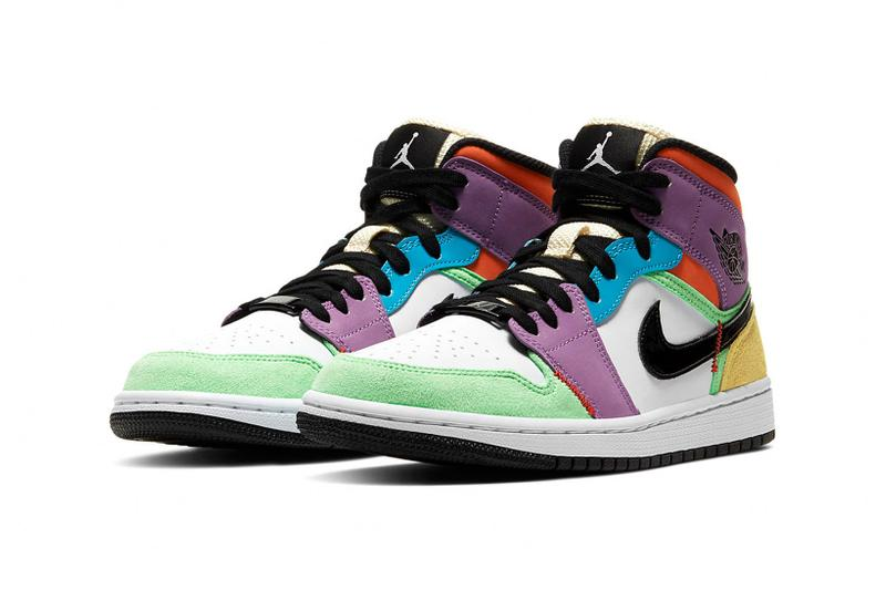 Nike Air Jordan 1 Mid Women's Lightbulb