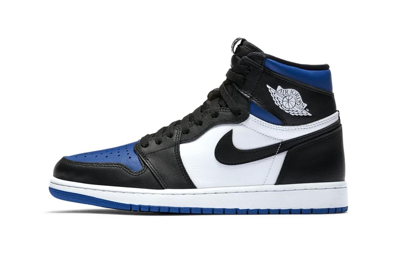 Air Jordan 1 Retro High Og Blue White Release Hypebae