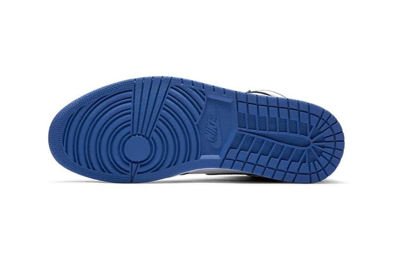 nike air jordan 1 retro high og sneakers black blue white colorway shoes sneakerhead footwear