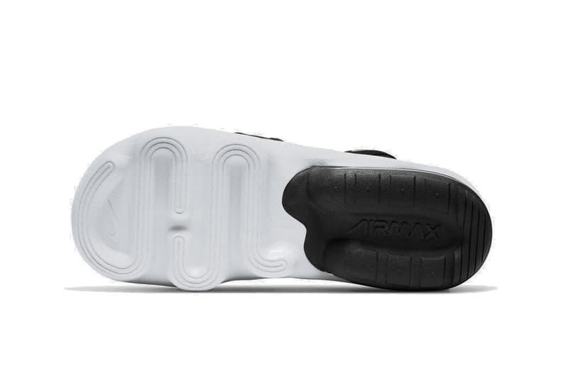 Nike Air Max Koko Platform Sandal Silhouette Release Reveal Black White