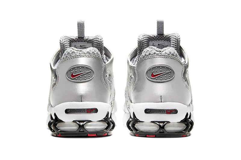 nike air zoom spiridon cage 2 smoke grey silver white black sneakers footwear sneakerhead shoes