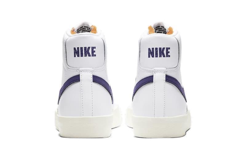 "Nike Blazer Mid ""Voltage Purple"" Sneaker Release Retro Shoe Timeless Spring Summer Trainer"