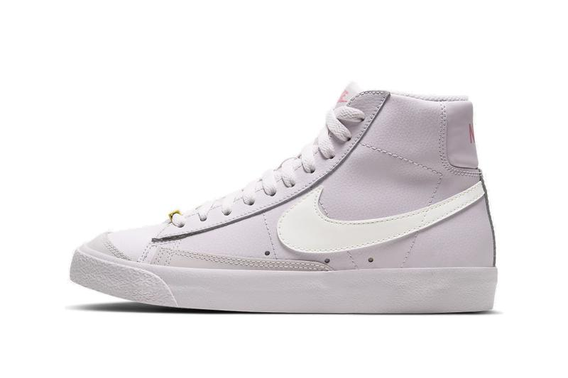 Nike Blazer Mid Violet/Digital Pink Sneaker Shoe Retro Silhouette Spring Summer Shoe Blush Pastel