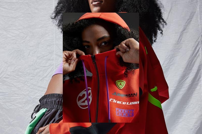 nike jordan brand womens moto summer collection jackets bodysuit athleisure pants sneakers jumpman