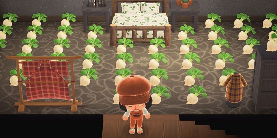 The Turnip Market on 'Animal Crossing: New Horizons' Is The Virtual Version of Supreme Lines