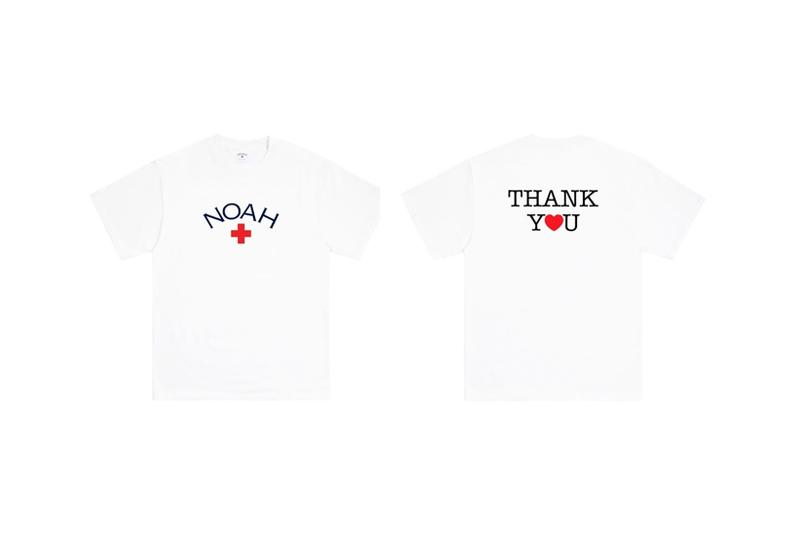 noah thank you core logo t shirt coronavirus covid19 pandemic relief