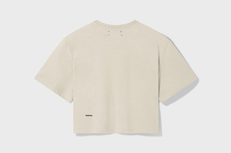 pangaia seaweed family collection relaunch sweaters t shirts sustainability fashion clothes black beige