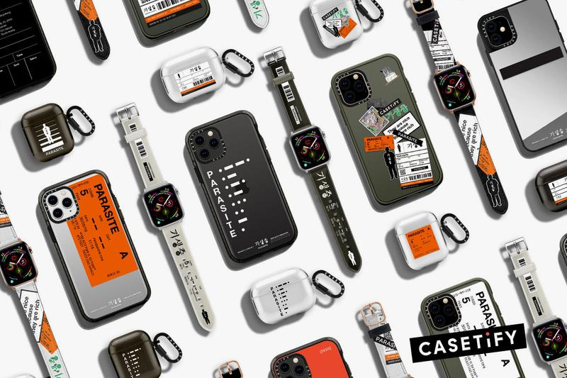 Parasite x Casetify Phone iPhone AirPods Case Collaboration Collection