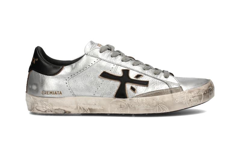 premiata steven sneaker silver spring summer 2020
