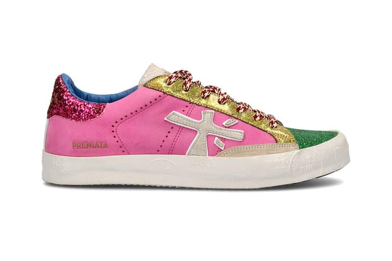 premiata steven sneaker pink spring summer 2020