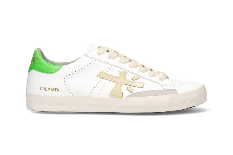 premiata steven sneaker green spring summer 2020