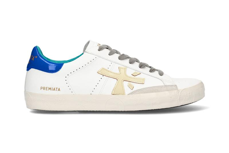 premiata steven sneaker blue spring summer 2020