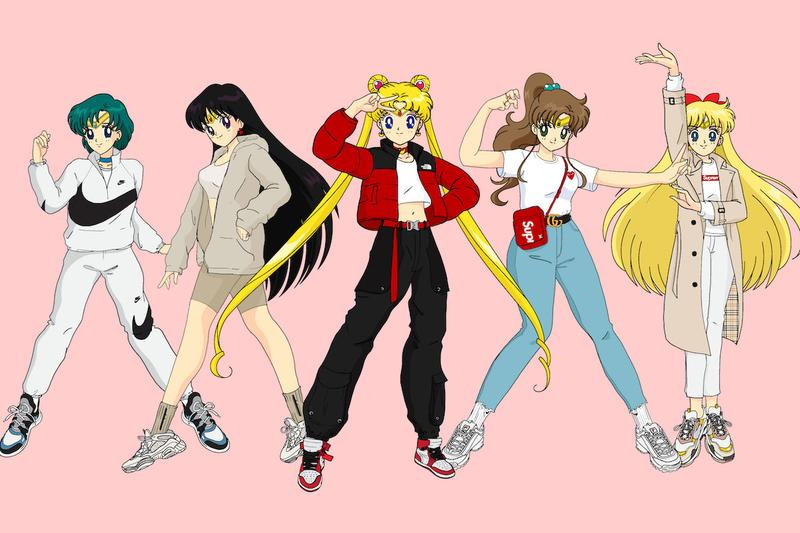 Sailor Moon Streetwear Illustration