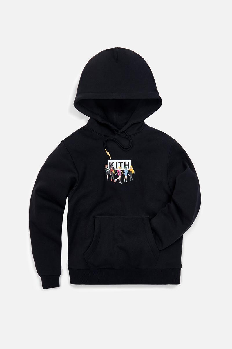 Sailor Moon x KITH Women Collaboration Collection Hoodie Black