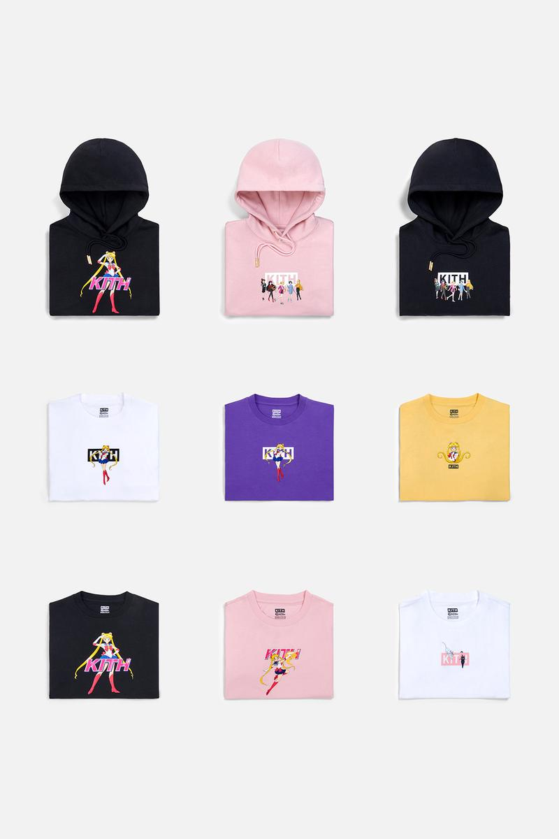 Sailor Moon x KITH Women Collaboration Collection