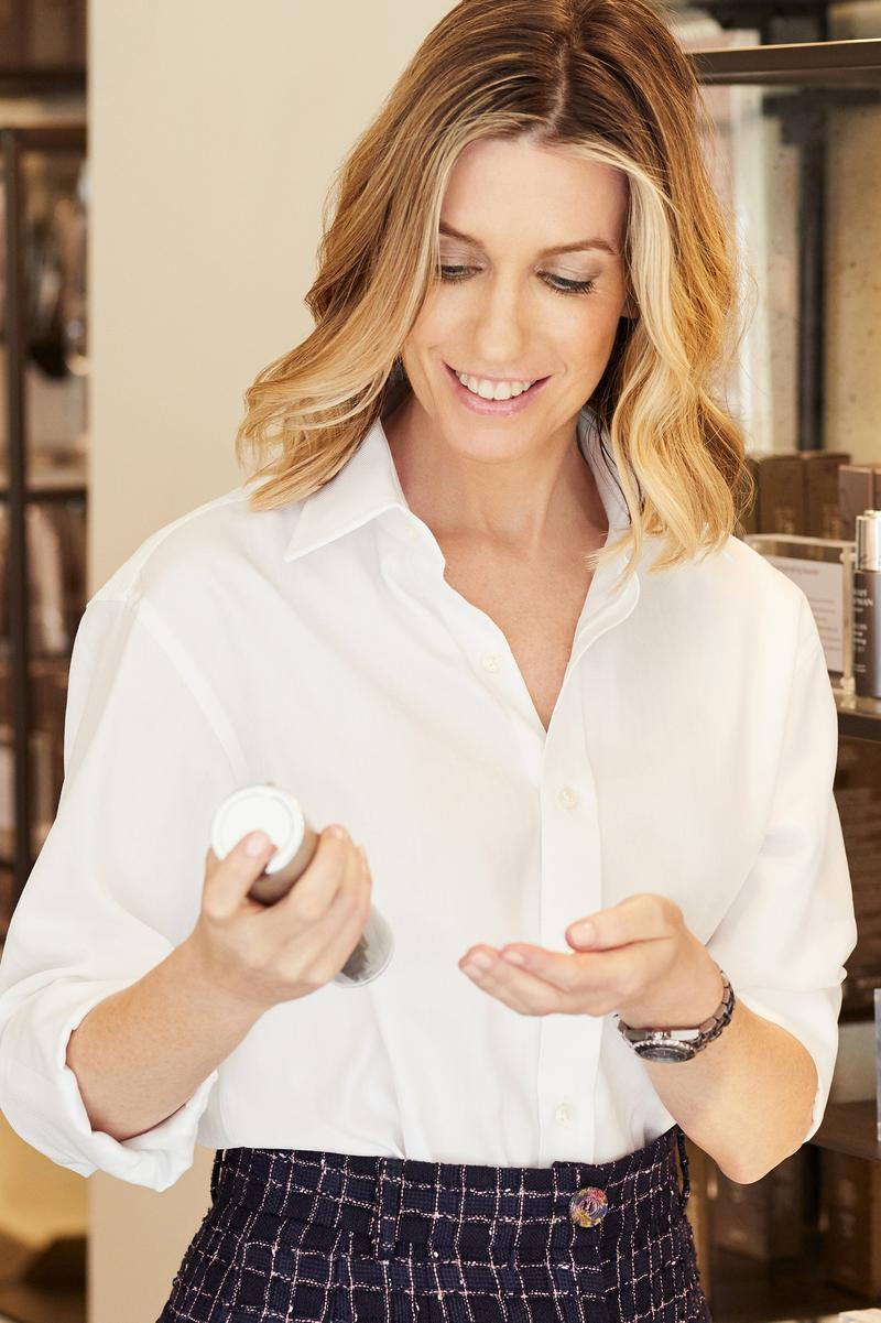 Sarah Chapman Skincare Specialist At Home Facial Tutorial Products Take Care of Skin