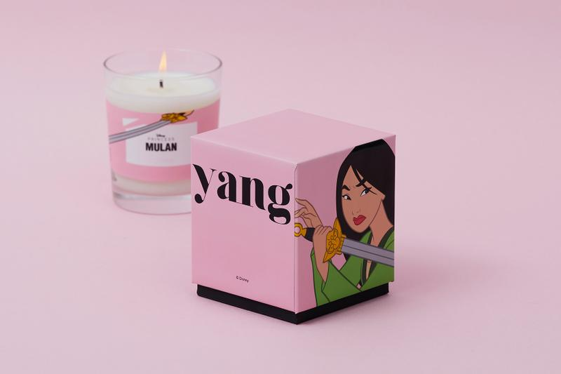 Soohyang Disney Princess Candle Collection Mulan