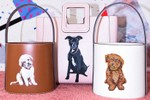 Picture of STAUD Launches Option to Customize Bags With Your Pet's Portrait
