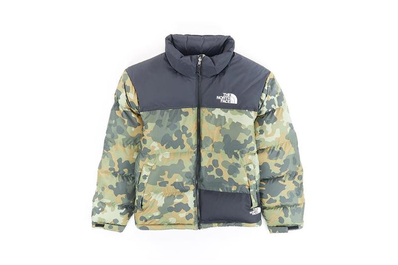 The North Face Remade Collection Puffer Jacket Camo