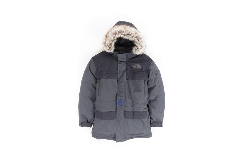 The North Face Remade Collection Parka Grey Black