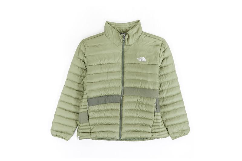 The North Face Remade Collection Puffer Jacket Green