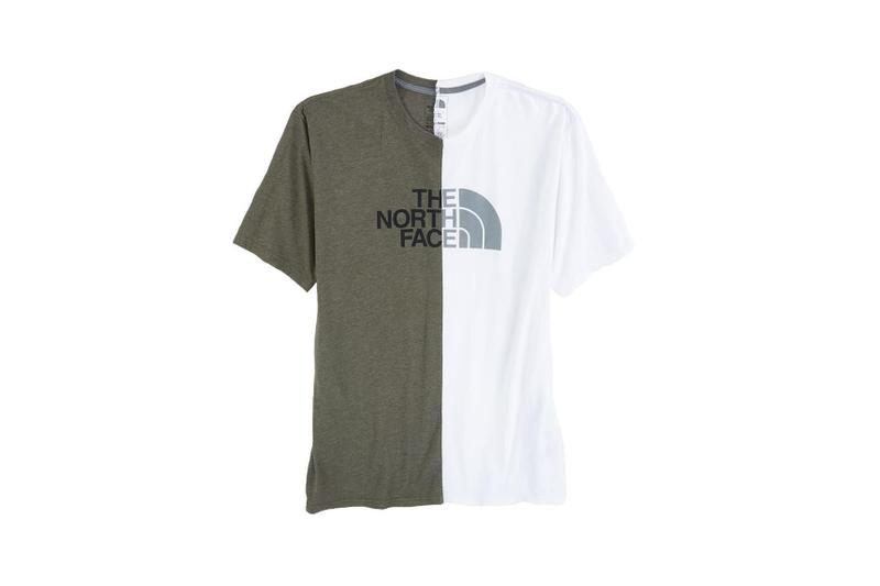 The North Face Remade Collection T-Shirt Split Green White