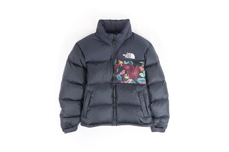 The North Face Remade Collection Puffer Jacket Floral Black