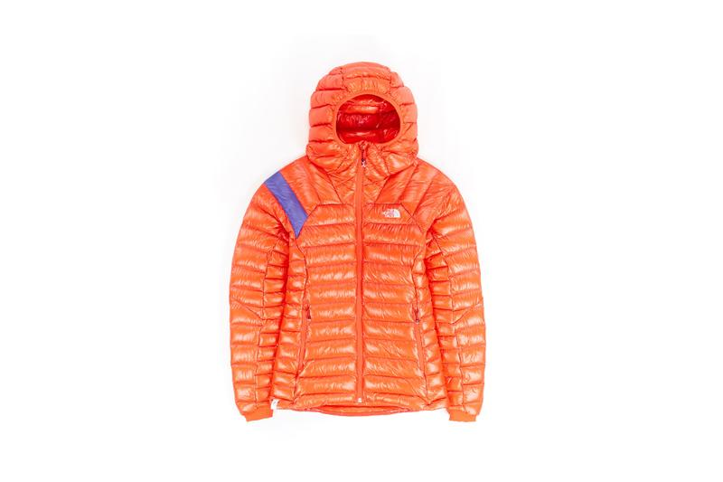 The North Face Remade Collection Puffer Jacket Orange