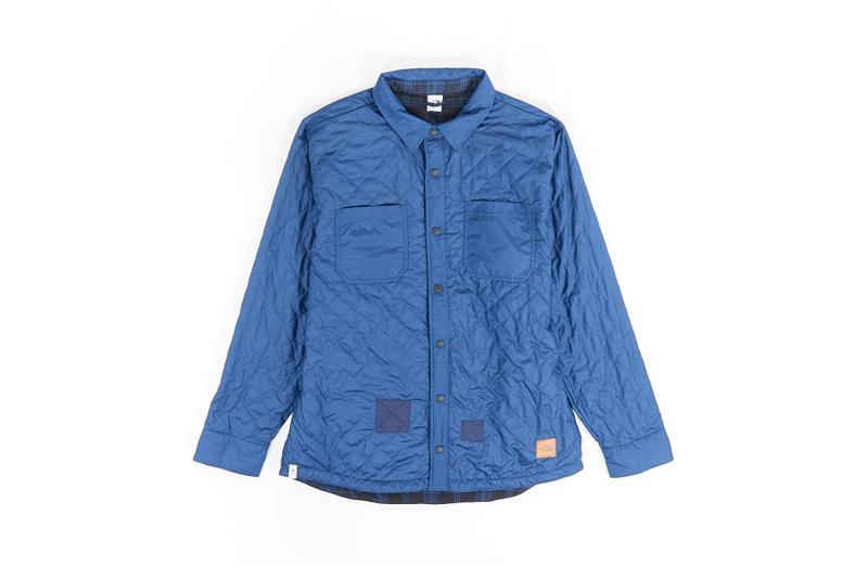 The North Face Remade Collection Quilted Jacket Blue