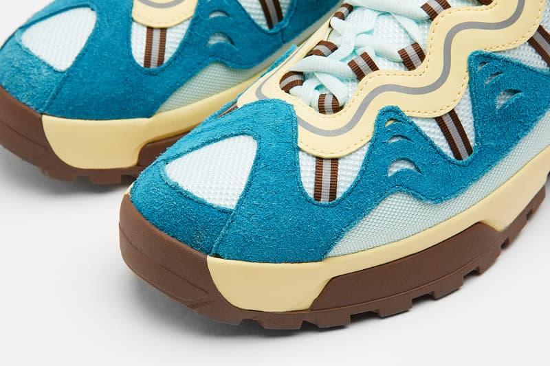 tyler the creator golf le fleur converse gianno sneakers pink blue yellow shoes footwear sneakerhead