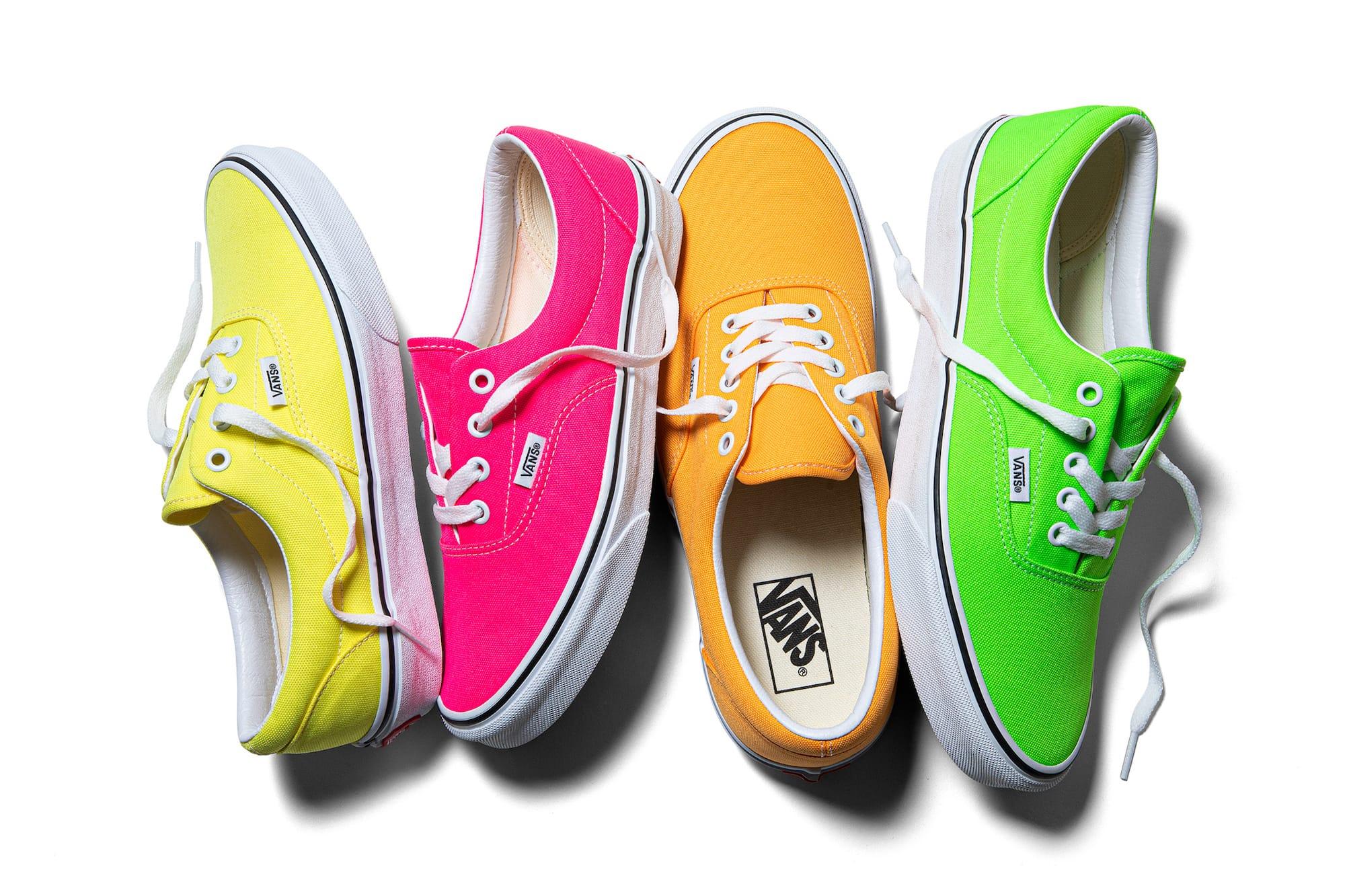 Vans Era Bright Neon Summer Sneaker