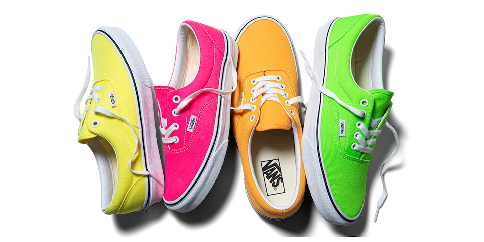 Vans Welcomes Spring With a Bright Neon Collection
