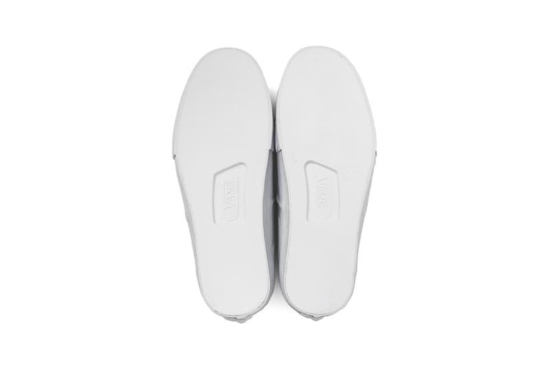 vans oth paul labonte 107 collaboration authentic vault lx sneakers white sneakerhead footwear shoes