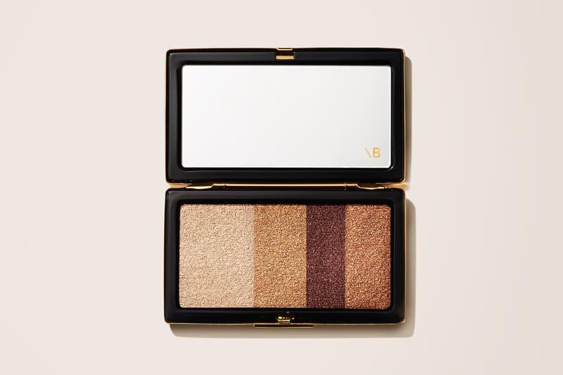 victoria beckham beauty smoky eye brick silk nude bronze champagne eyeshadow makeup beauty