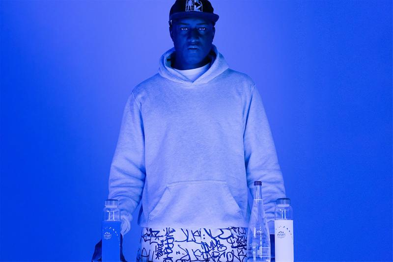 virgil abloh evian water collaboration activate movement program competition extension sustainability carbon neutral certification